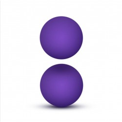 Luxe Purple Double O Kegel Balls